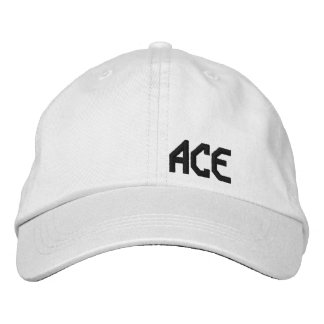 ACE Tennis Gear Embroidered Baseball Cap