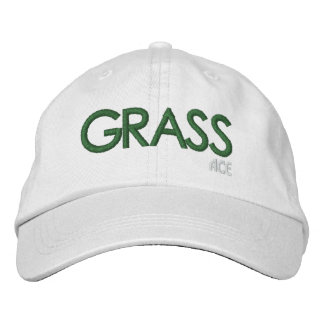 ACE Tennis GRASS Court Embroidered Baseball Caps