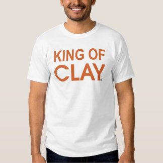 ACE Tennis KING OF CLAY T-Shirt