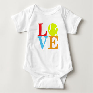 Ace Tennis LOVE Baby Bodysuit