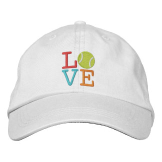 Ace Tennis LOVE Embroidered Baseball Cap