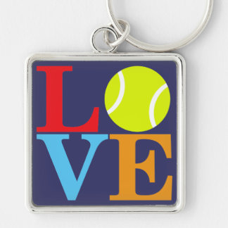 Ace Tennis LOVE Keychain