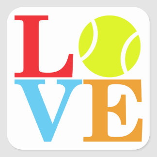 Ace Tennis LOVE Stickers