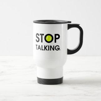 ACE Tennis STOP TALKING Travel Mug