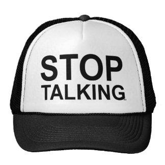 ACE Tennis STOP TALKING Trucker Hat