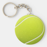 Ace The Ball Keyring Tennis Ball Keychain