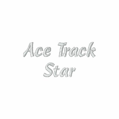 Ace Track Star Embroidered Shirt