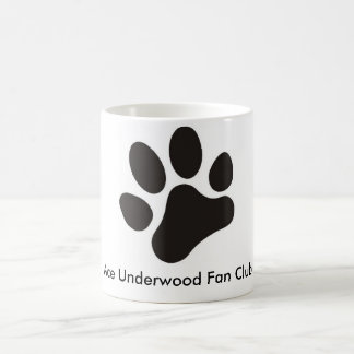 Ace Underwood Fan Club coffee mug