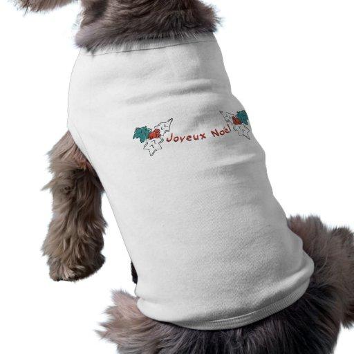 Acebo de Joyeux Noel Camisas De Perritos