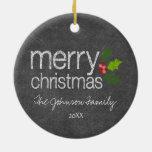 Acebo de las Felices Navidad del collage de la Ornamentos Para Reyes Magos
