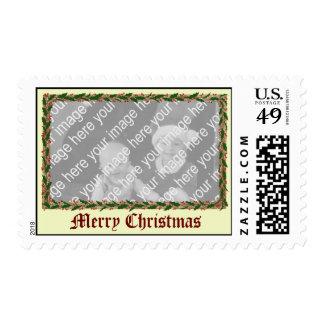 Acebo del navidad del vintage sellos