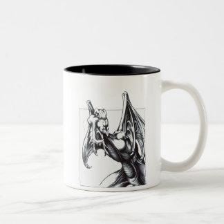 Acecho del dragón taza de dos tonos