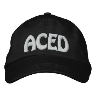 ACED EMBROIDERED BASEBALL CAP