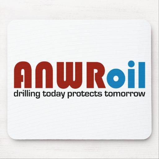 Aceite de ANWR: La perforación hoy protege mañana Alfombrilla De Ratón