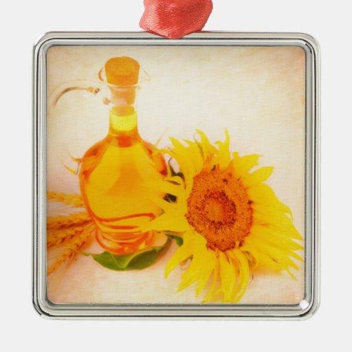 aceite de girasol 2 ornamento de reyes magos