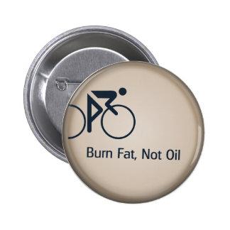 Aceite de la grasa de la quemadura no pin