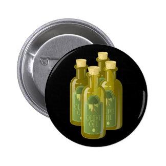 Aceite de oliva de la comida de la interferencia pin redondo de 2 pulgadas