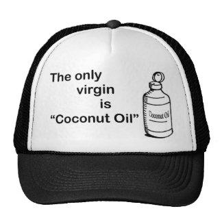 Aceite de Virgen del coco Gorro De Camionero