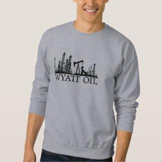 Aceite de Wyatt (logotipo negro) Suéter