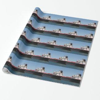 Aceite/nave de petrolero química 1 papel de regalo