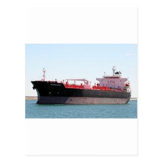 Aceite/nave de petrolero química 2 postal