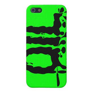 Aceite - sucio pegajoso Gooey negro - amamos el iPhone 5 Fundas