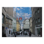 Aceite viejo de la ciudad de Bratislava Impresiones