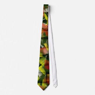 Aceite y acrílico abstractos que pintan 5 corbatas personalizadas