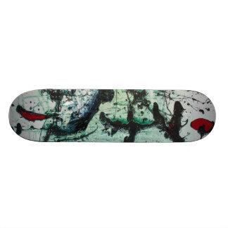 Aceite y sangre tabla de skate