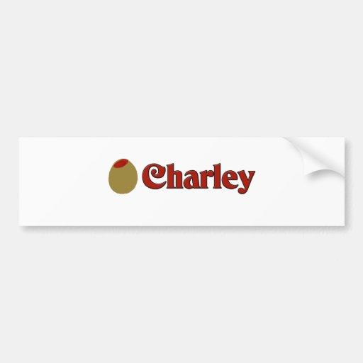 Aceituna (amor) de I Charley. Pegatina Para Auto