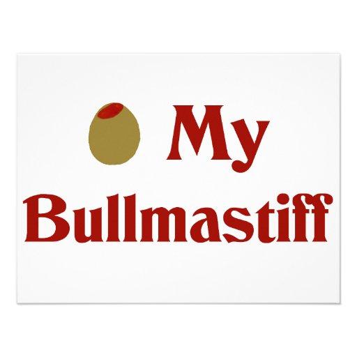 Aceituna (amor de I) mi Bullmastiff Comunicado Personal