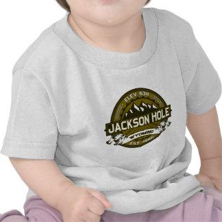 Aceituna de Jackson Hole Camiseta