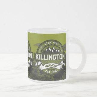 Aceituna del logotipo de Killington Taza De Cristal