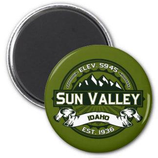 Aceituna del logotipo de Sun Valley Imán Para Frigorífico