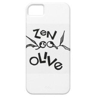 Aceituna del zen funda para iPhone SE/5/5s