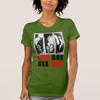 Aceituna para mujer de la camiseta del racerback poleras