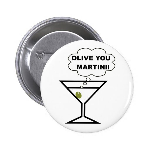 Aceituna usted Martini Pins