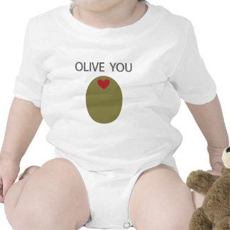 Aceituna usted traje de bebé