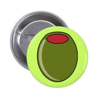 Aceituna verde pin