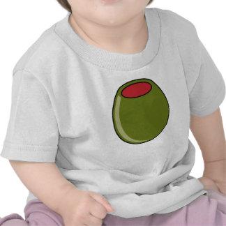 Aceituna verde camisetas