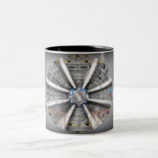Acelerador de partícula grande del Collider del Ha Tazas De Café