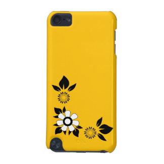 Acento ambarino amarillo de oro del color carcasa para iPod touch 5