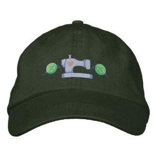Acento de la máquina de coser gorras bordadas