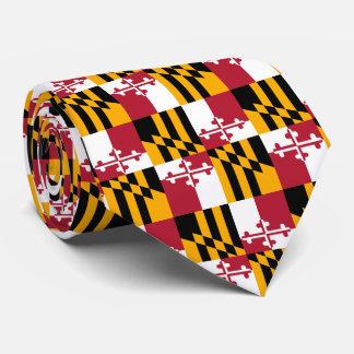 Acento del diseño de la bandera del estado de corbatas personalizadas