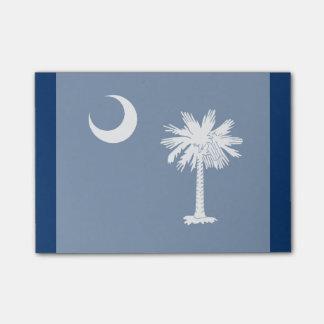 Acento del diseño de la bandera del estado de post-it® notas