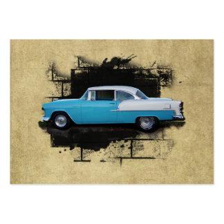 ACEO- 1955 Chevy Bel Air- Classic Car- Mini Print Business Card