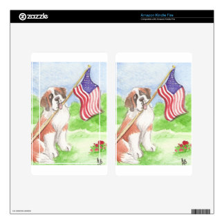 ACEO 50 Proud to be American Saint Kindle Fire Skins