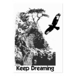 ACEO ATC keep dreaming Large Business Cards (Pack Of 100)