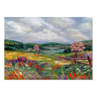 ACEO: Katy's Pasture Large Business Cards (Pack Of 100)