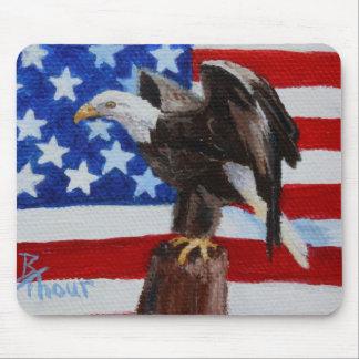 Aceo Mousepad de Eagle de la libertad Alfombrilla De Raton